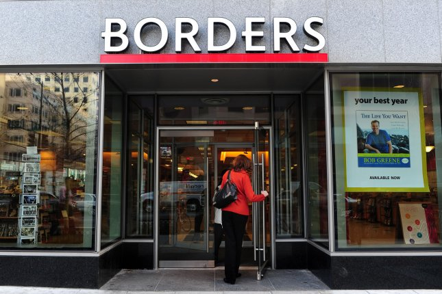 On February 16, 2011, Borders, the 40-year-old retail book superstore chain that began as a used book shop in Ann Arbor, Mich., filed for bankruptcy. File Photo by Kevin Dietsch/UPI