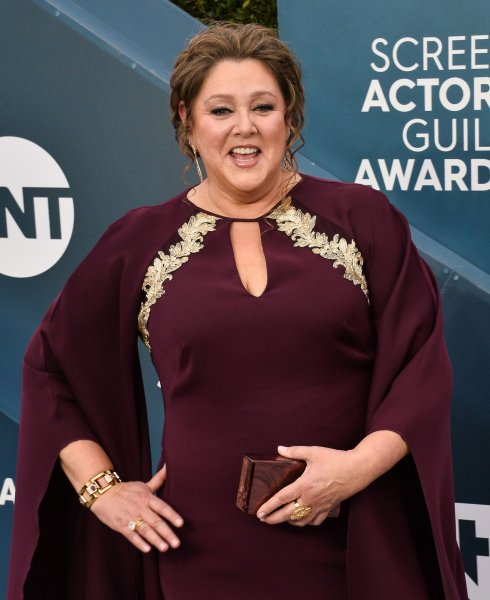 Camryn Manheim arrives for the 26th annual SAG Awards held at the Shrine Auditorium in Los Angeles on January 19, 2020. The actor turns 60 on March 8. File Photo by Jim Ruymen/UPI