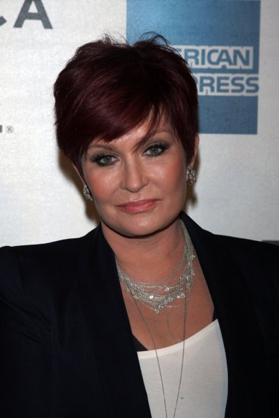 Sharon Osbourne arrives for the Tribeca Film Festival Premiere of God Bless Ozzy Osbourne at the BMCC Tribeca PAC in New York on April 24, 2011. UPI /Laura Cavanaugh