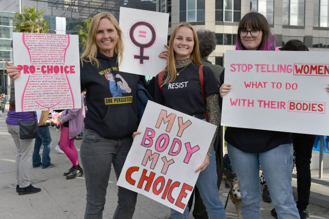 The 5th U.S. Circuit Court of Appeals blocked a Mississippi law that would ban abortions as early as the sixth week of pregnancy on Thursday. File Photo by Chris Chew/UPI