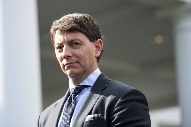 Hogan Gidley will become national press secretary for the Trump campaign on July 1. File Photo by Kevin Dietsch/UPI
