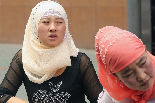 China has detained at least 1 million Uighurs and other minorities in internment camps, according to the United Nations Committee on the Elimination of Racial Discrimination. File Photo by Stephen Shaver/UPI
