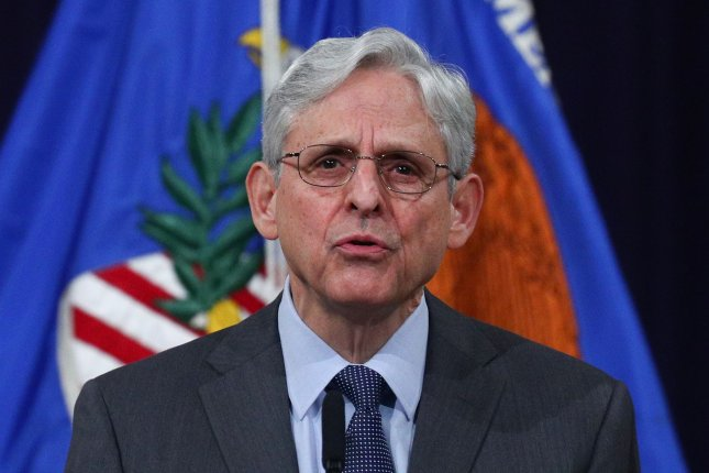 Attorney General Merrick Garland issued a directive Wednesday limiting contacts between the Justice Department and the White House on legal cases. File photo by Tom Brenner/UPI/Pool