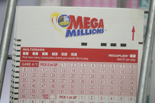 Susan Fitton, of Boca Raton, Fla., purchased two identical tickets for the Sept. 14 Mega Millions drawing, and each ticket matched all five white balls drawn, earning her a total prize of $4 million. File Photo by John Angelillo/UPI