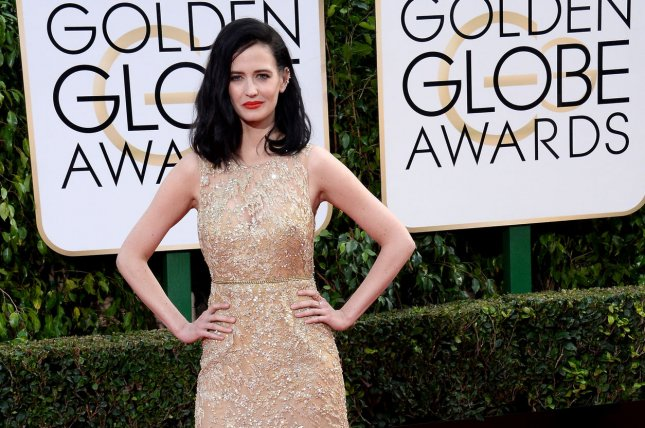 Actress Eva Green attends the 73rd annual Golden Globe Awards in Beverly Hills on January 10, 2016. Photo by Jim Ruymen/UPI