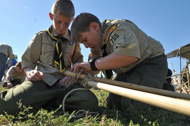 The number of Boy Scouts who achieve the Eagle Scout rank is expected to drop significantly following the exit of Scouts from Mormon-church connected troops. File Photo by Kevin Dietsch/UPI