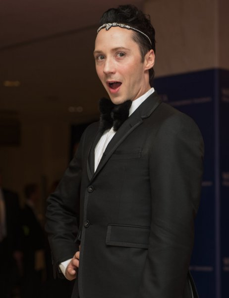 Johnny Weir got the boot on Monday's edition of Dancing with the Stars. File Photo by Molly Riley/UPI