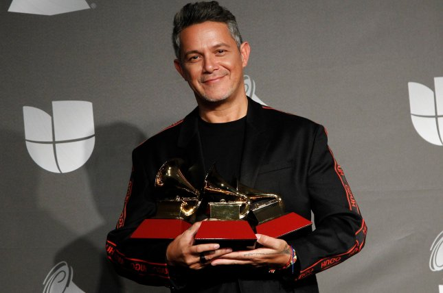 Alejandro Sanz snagged the prize for Record of the Year for his song Contigoat the 2020 Latin Grammys on Thursday night. Photo by James Atoa/UPI