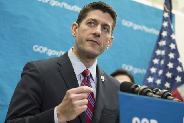 House Budget Committee Chairman Paul Ryan, R-Wisc. UPI/Kevin Dietsch
