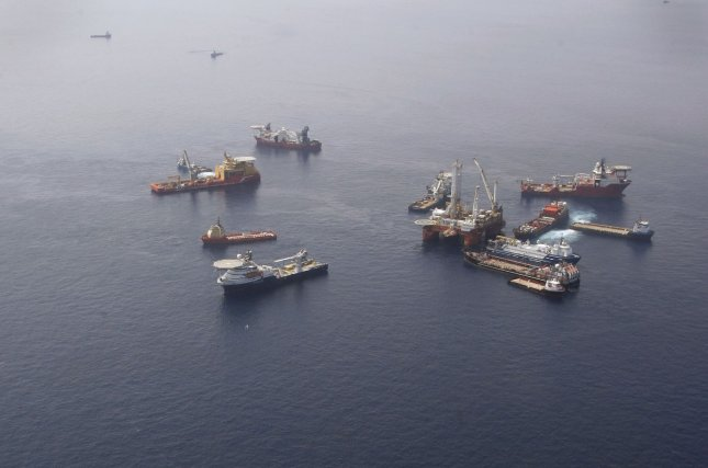 McDermott International has landed a major offshore project with Saudi Arabia, one of the few specified as geared toward oil. File photo by A.J. Sisco/UPI