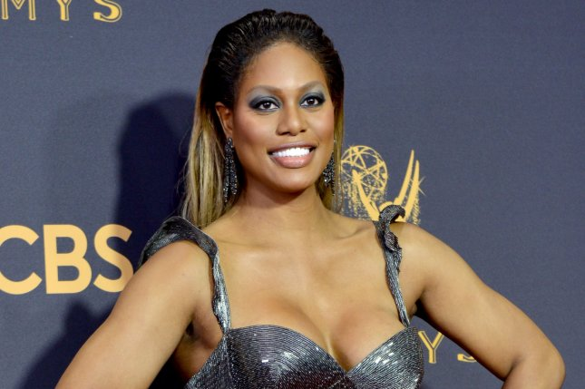 Laverne Cox is set to host upcoming competition series Glam Masters from producer Kim Kardashian. File Photo by Christine Chew/UPI