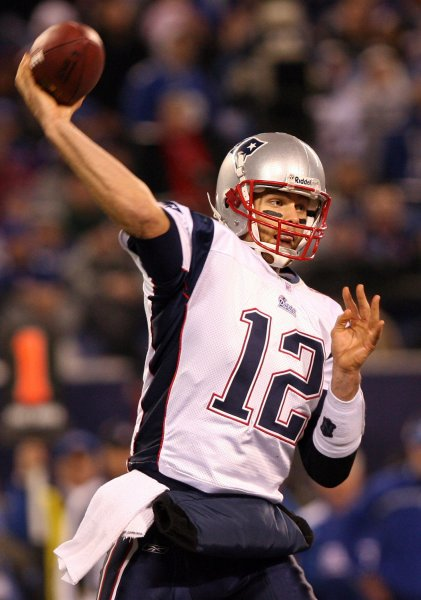 On December 29, 2007, the New England Patriots became the first NFL team to finish the regular season with a 16-0 record. File Photo by John Angelillo/UPI