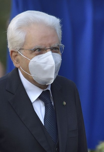 Italian President Sergio Mattarella marked the one-year anniversary of the first Italian COVID-19 cases by announcing a National Day to honor health care workers. File Photo by Stefano Spaziani/UPI