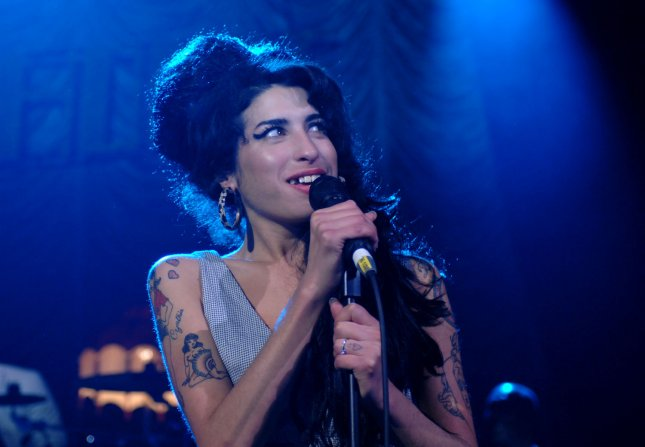 British R&B singer Amy Winehouse performs at Shepherd's Bush Empire in London on May 28, 2007. (UPI Photo/Rune Hellestad)