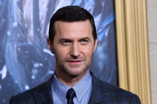 Actor Richard Armitage attends the premiere of The Hobbit: The Battle of Five Armies in Los Angeles on December 9, 2014. The actor will star in the play Love, Love, Love. File Photo by Jim Ruymen/UPI