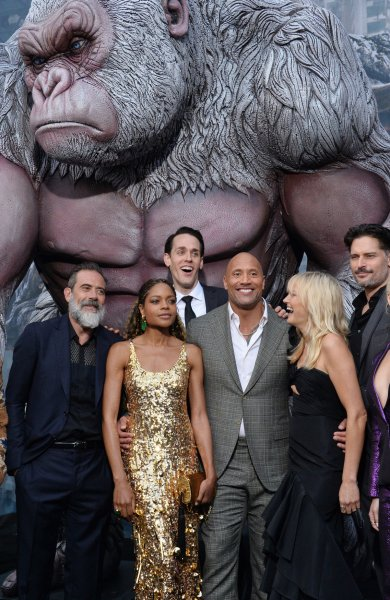 'Rampage' is the No. 1 movie in North America with $34.5M