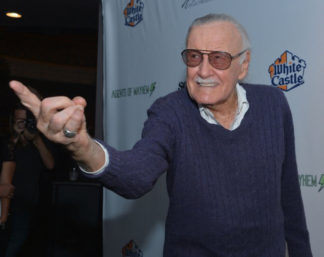 Stan Lee attends the Extraordinary: Stan Lee tribute event at the Saban Theater in Beverly Hills on August 22, 2017. He died on Monday. File Photo by Jim Ruymen/UPI