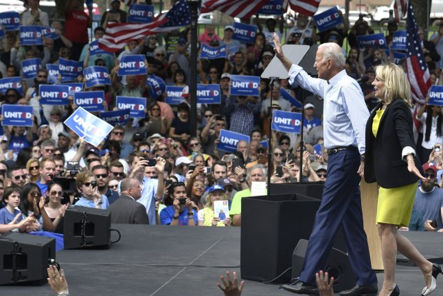 Biden leads pack of Democratic hopefuls on beat-Trump factor
