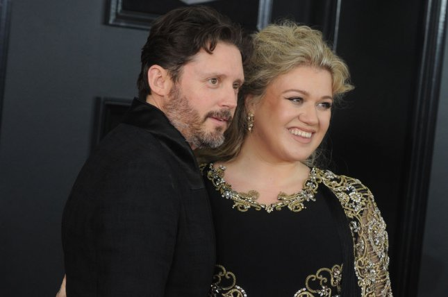 Kelly Clarkson (R) filed for divorce from Brandon Blackstock after nearly seven years of marriage. File Photo by Dennis Van Tine/UPI