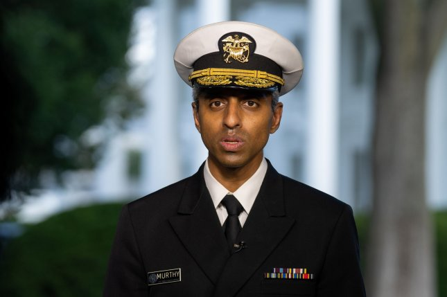 U.S. Surgeon General Vivek Murthy said that President Joe Biden's vaccine mandates affecting more than two-thirds of the workforce are within the federal government's authority. Photo by Ken Cedeno/UPI