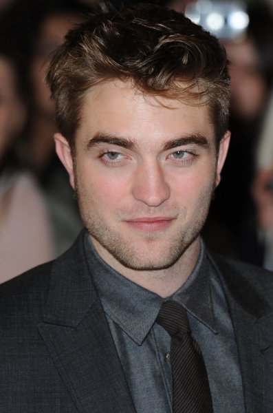 British actor Robert Pattinson attends the premiere of The Twilight Saga: Breaking Dawn: Part Oone at Westfield Stratford in London on November 16, 2011. UPI/Rune Hellestad