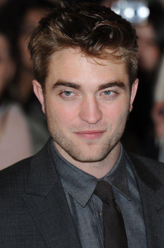British actor Robert Pattinson attends the premiere of The Twilight Saga: Breaking Dawn: Part Oone at Westfield Stratford in London on November 16, 2011. UPI/Rune Hellestad