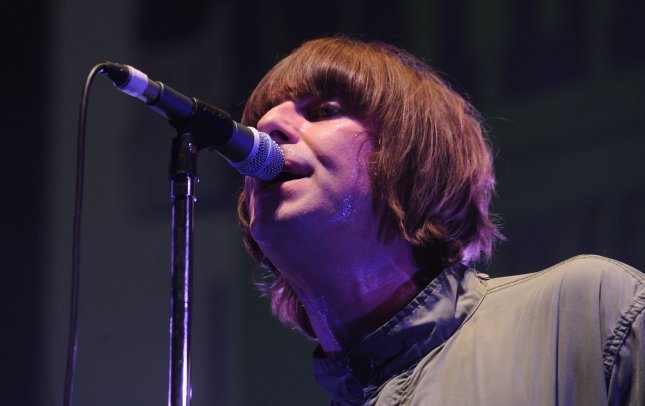 British singer Liam Gallagher perfoms with Beady Eye at The Troxy in London on March 9 2011. UPI/Rune Hellestad