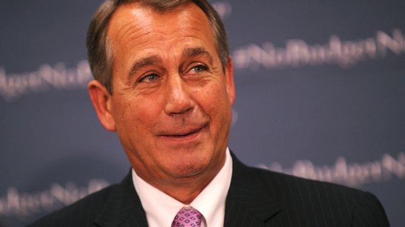 Speaker of the House John Boehner speaks at a press conference on the budget in Washington, D.C. on September 22, 2013. UPI/Kevin Dietsch