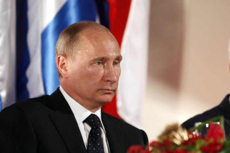 Russian President Vladimir Putin. (UPI/Lior Mizrahi/Pool)