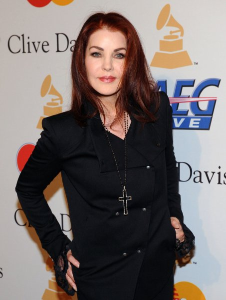 Priscilla Presley will bring Elvis memorabilia from Graceland to London in December. (UPI/Jim Ruymen)