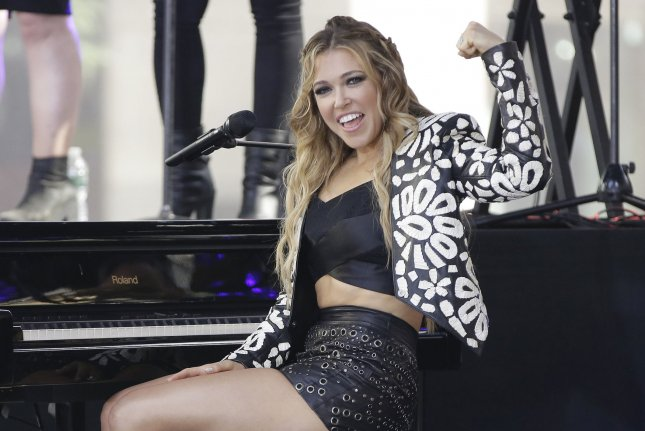 Rachel Platten performs on the Today show on Friday. Photo by John Angelillo/UPI