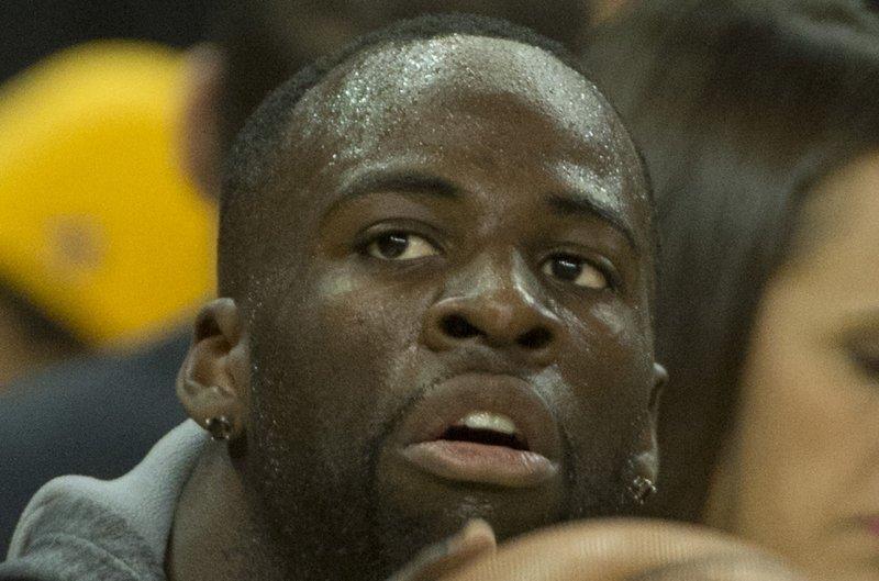 Golden State Warriors forward Draymond Green. Photo by Terry Schmitt/UPI