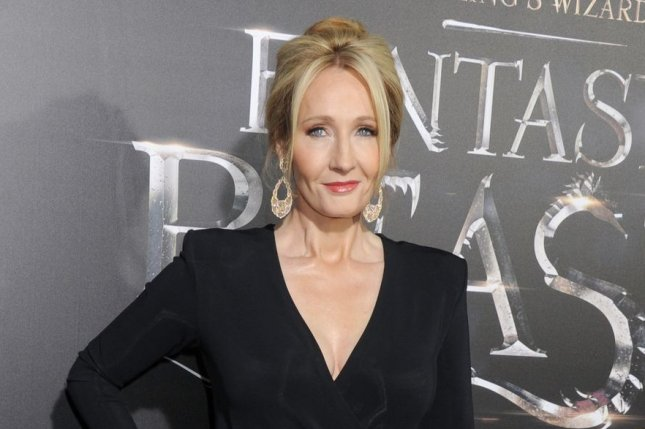 J. K. Rowling said on Twitter she has recovered from COVID-19 symptoms. File Photo by Dennis Van Tine/UPI
