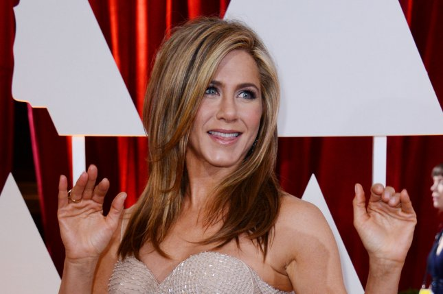 Jennifer Aniston at the Academy Awards on February 22, 2015. The actress was named People's Most Beautiful Woman of 2016. File Photo by Jim Ruymen/UPI