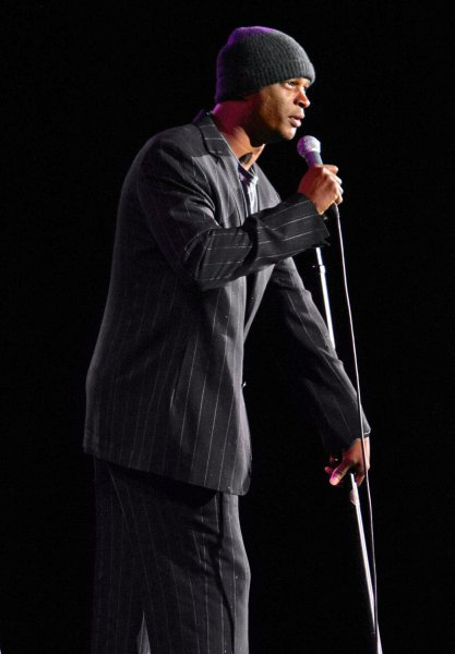 Damon Wayans performs at the Orleans Hotel and Casino in Las Vegas on February 3, 2007. (UPI Photo/Roger Williams)