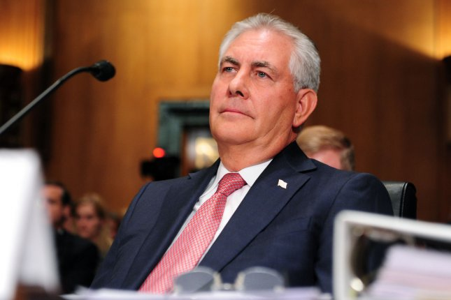 Exxon Mobil and Rex Tillerson part ways to address conflict of interest concerns regarding his nomination as U.S. secretary of state. File photo by Kevin Dietsch/UPI