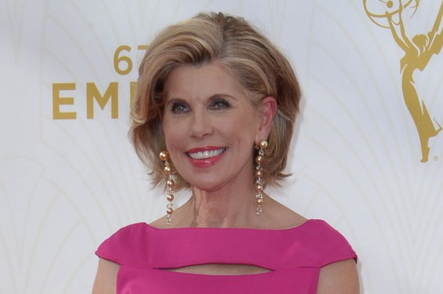 Christine Baranski at the Primetime Emmy Awards on September 20, 2015. File Photo by Jim Ruymen/UPI