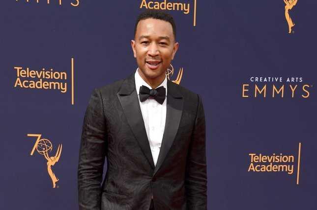 John Legend completed his EGOT at the Creative Arts Emmy Awards on Sunday. Photo by Gregg DeGuire/UPI