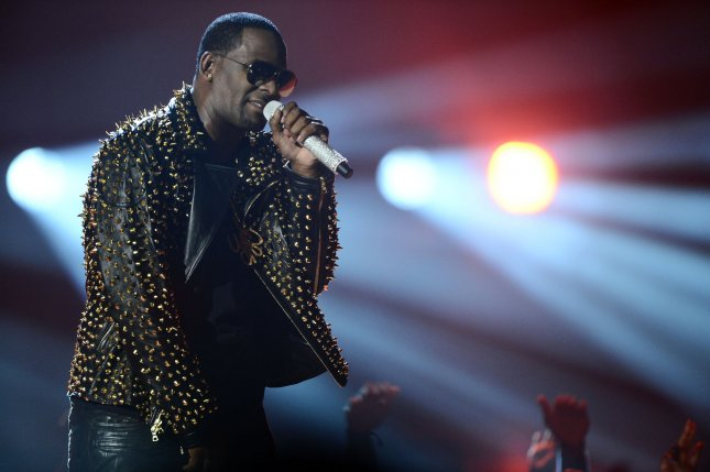 Singer R. Kelly was accused of bribing a public official for false identification for an unidentified woman a day before he married 15-year-old singer Aaliyah. File Photo by Jim Ruymen/UPI