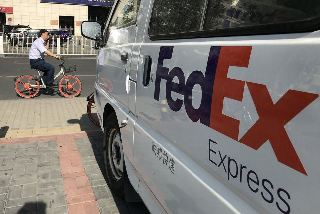 FedEx ground will make Sunday deliveries year-round beginning this weekend, the company announced Wednesday. File Photo by Stephen Shaver/UPI