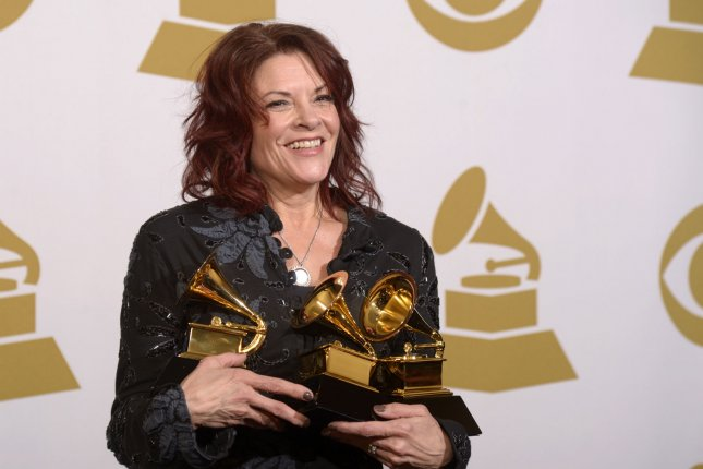 Grammy-award winning singer-songwriter Rosanne Cash has been selected to receive the 61st annual Edward MacDowell Medal, the MacDowell Colony announced Monday. File Photo by Phil McCarten/UPI