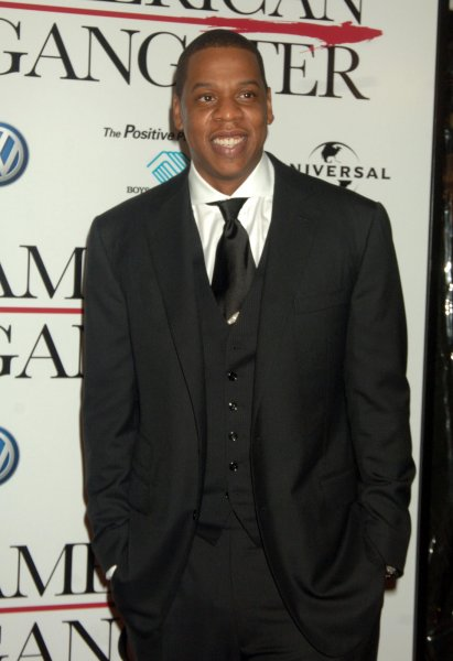 Rapper Jay Z attends the world premiere for the new film American Gangster at New York's Apollo theater on October 19, 2007. (UPI Photo/Ezio Petersen)