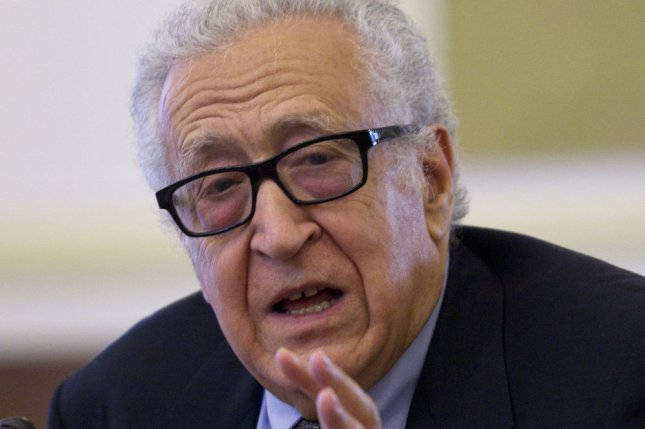 UN-Arab League Special Envoy to Syria Lakhdar Brahimi, pictured on October 26, 2013. (UPI/Maryam Rahmanian)