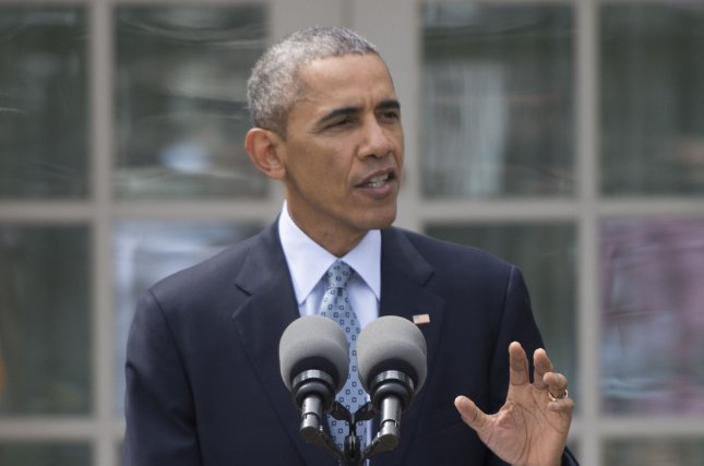 President Barack Obama announces a nuclear agreement has been reached between Iran and U.S. and European Union officials following eighth days of negotiations, in the Rose Garden at the White House in Washington, D.C. on April 2, 2015. The agreement will reduce Iran's stockpile of enriched uranium while easing some sanctions with the end result that Iran will not be allowed to develop a nuclear weapon. Photo by Kevin Dietsch/UPI