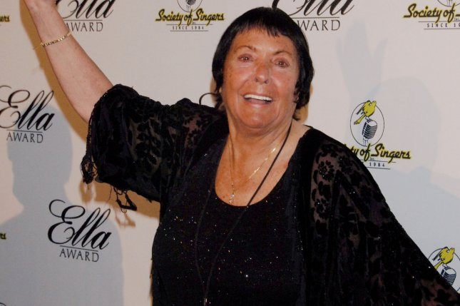 Singer Keely Smith has died at the age of 89. File Photo by Jim Ruymen/UPI