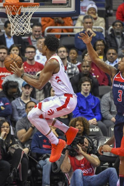 DeMar DeRozan and the Toronto Raptors are aiming for their 11th straight win Friday vs. the Dallas Mavericks. Photo by Mark Goldman/UPI
