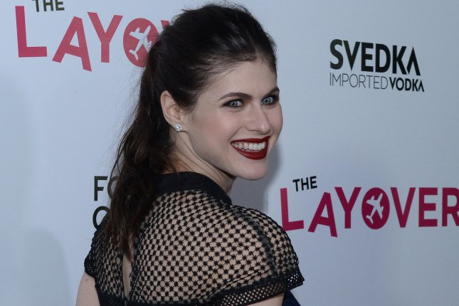 Alexandra Daddario will star in and executive produce a big-screen version of Can You Keep a Secret? File Photo by Jim Ruymen/UPI