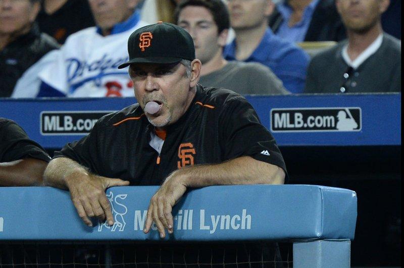 San Francisco Giants manager Bruce Bochy. Photo by Jim Ruymen/UPI