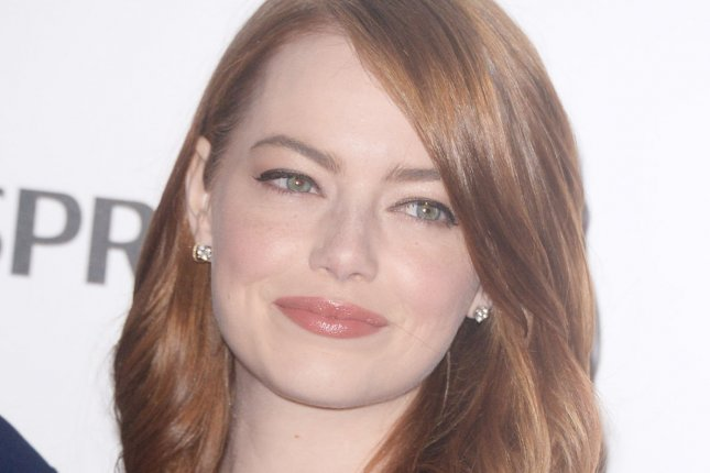 American actress Emma Stone attends the BAFTA Nominations Party at Kensington Palace in London on February 11. Photo by Rune Hellestad/ UPI