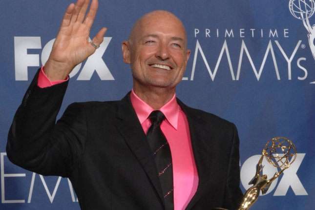Terry O'Quinn holds his Emmy for his work on 'Lost at the 59th Primetime Emmy Awards on September 16, 2007. O'Quinn has been cast in Castle Rock from Stephen King and J.J. Abrams. File Photo by Scott Harms/UPI